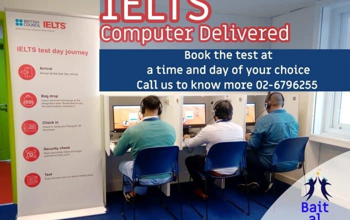 IELTS Computer Delivered Training